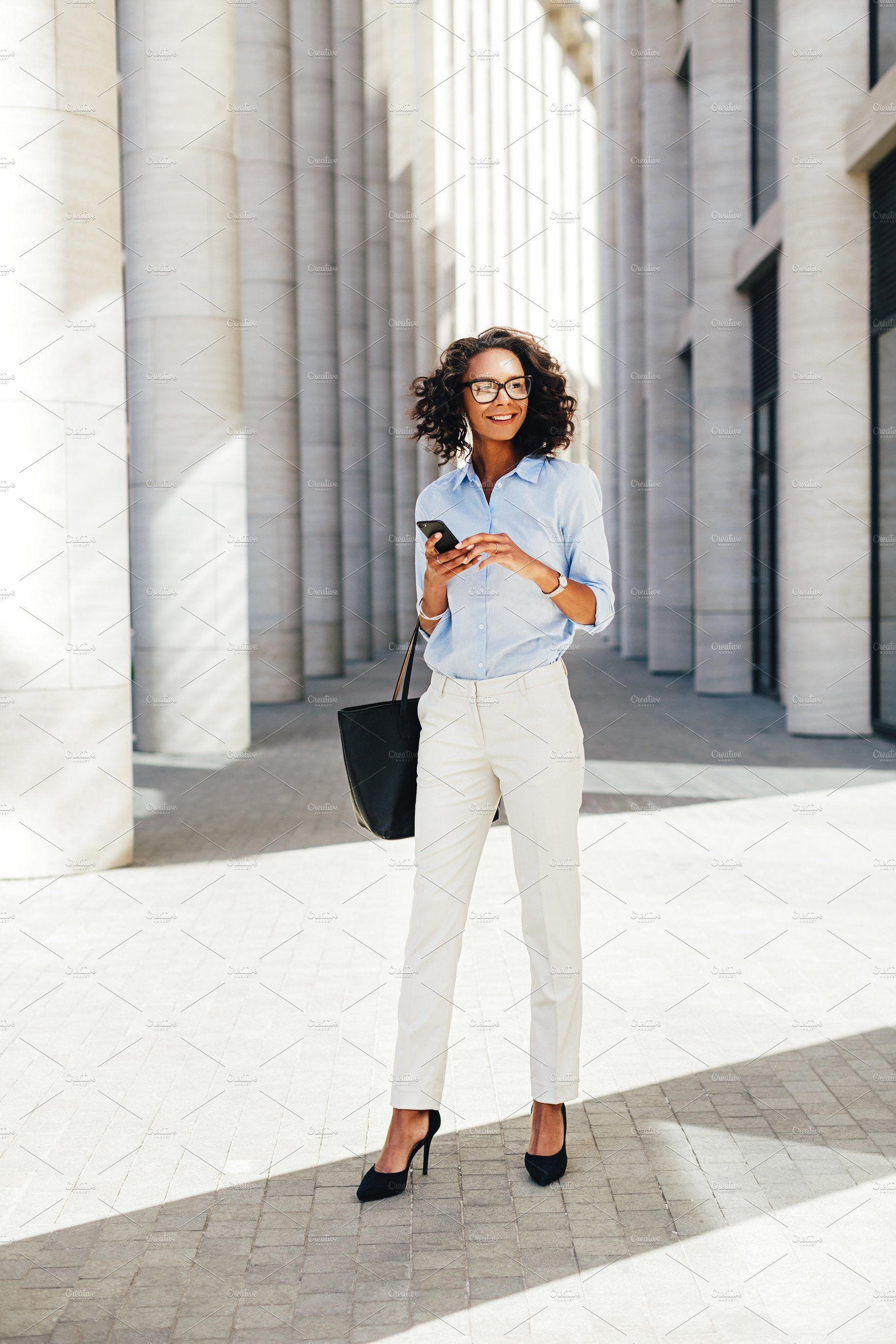 Businesswoman Wearing Formal Clothes With Images Business