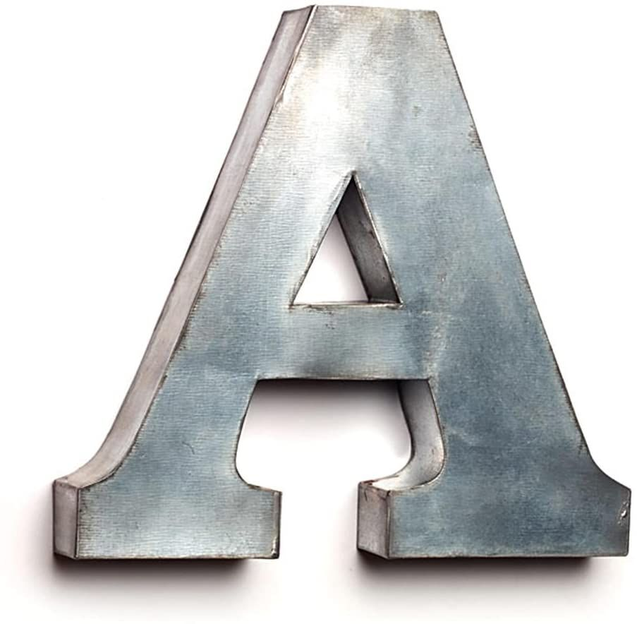 The Country House Collection Tin Letters A For More Information Visit Image Link This Is An Affiliate Link In 2020 Decorative Tin Diy Decor Decorative Letters