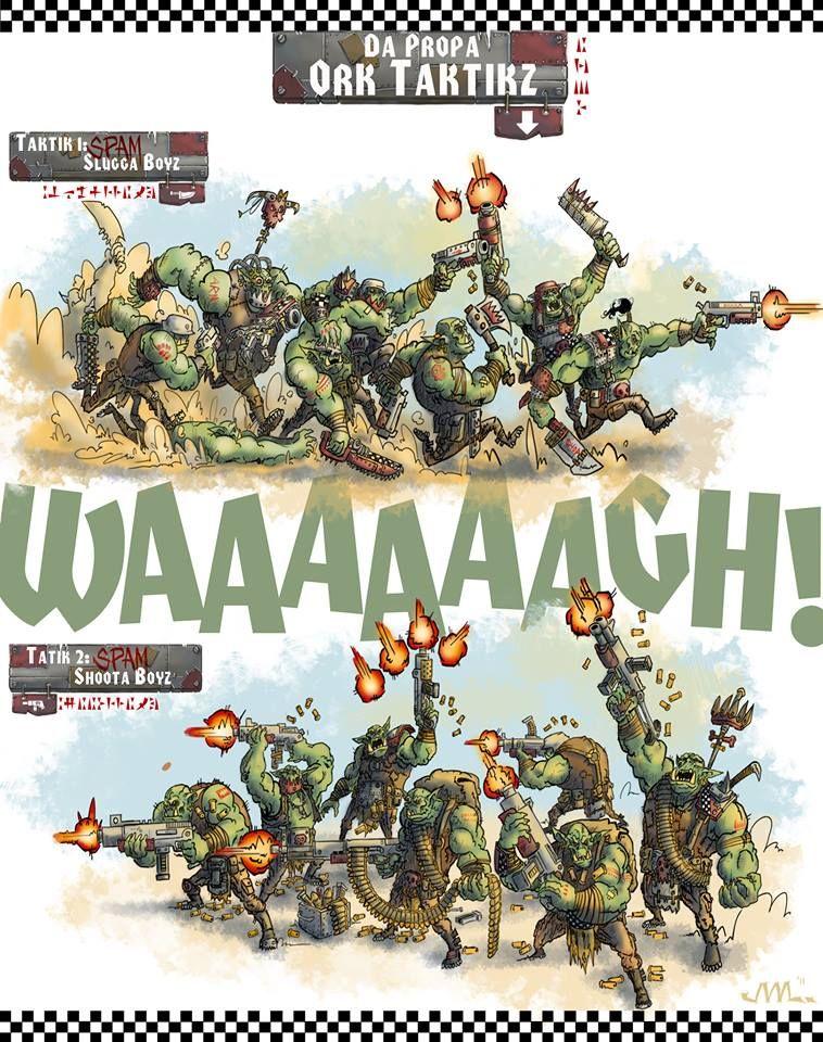 Waaagh Tactics Warhammer Warhammer 40k Orks 40k