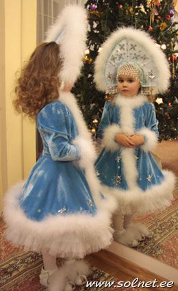 Выкройка костюмы детские на новый год