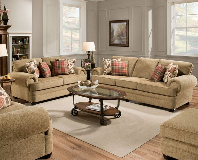 United 7530s Sofa Living Room Upholstery Living Room Collections Living Room Sets #schewels #living #room #sets