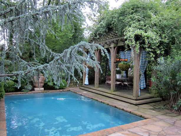 The Outdoor Living Room P Allen Smith Style Pool Construction