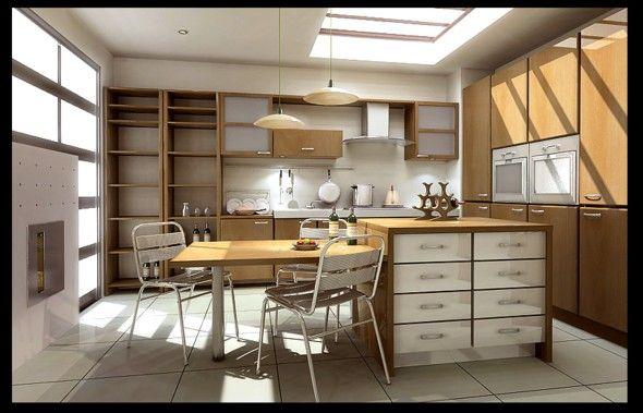 Kitchen Design With Mini Bar accessories, the startling light brown furniture some white