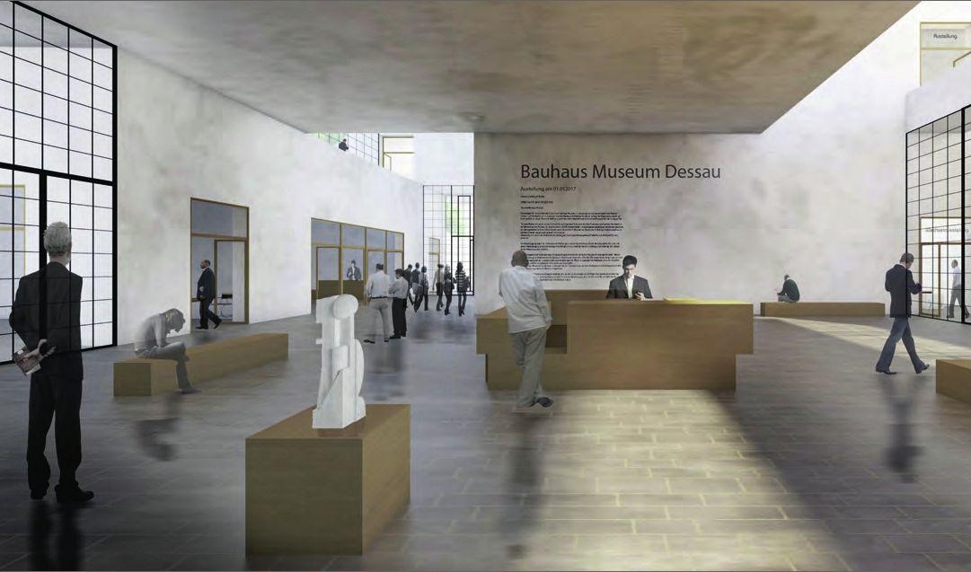 Galería de Bauhaus Dessau anuncia a los ganadores del concurso para