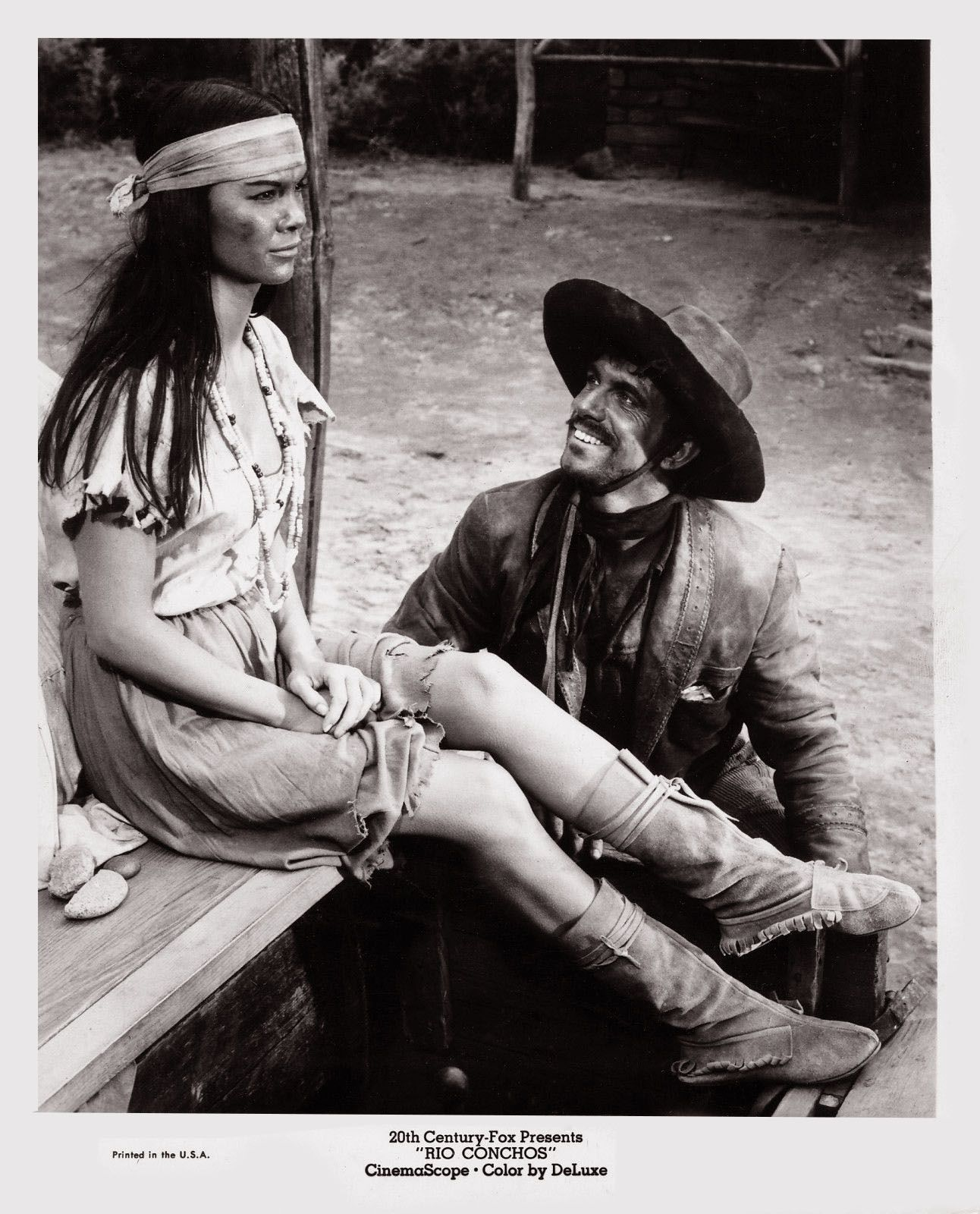 Rio Conchos 1964 - A Mexican Bandit Anthony Franciosa -3675