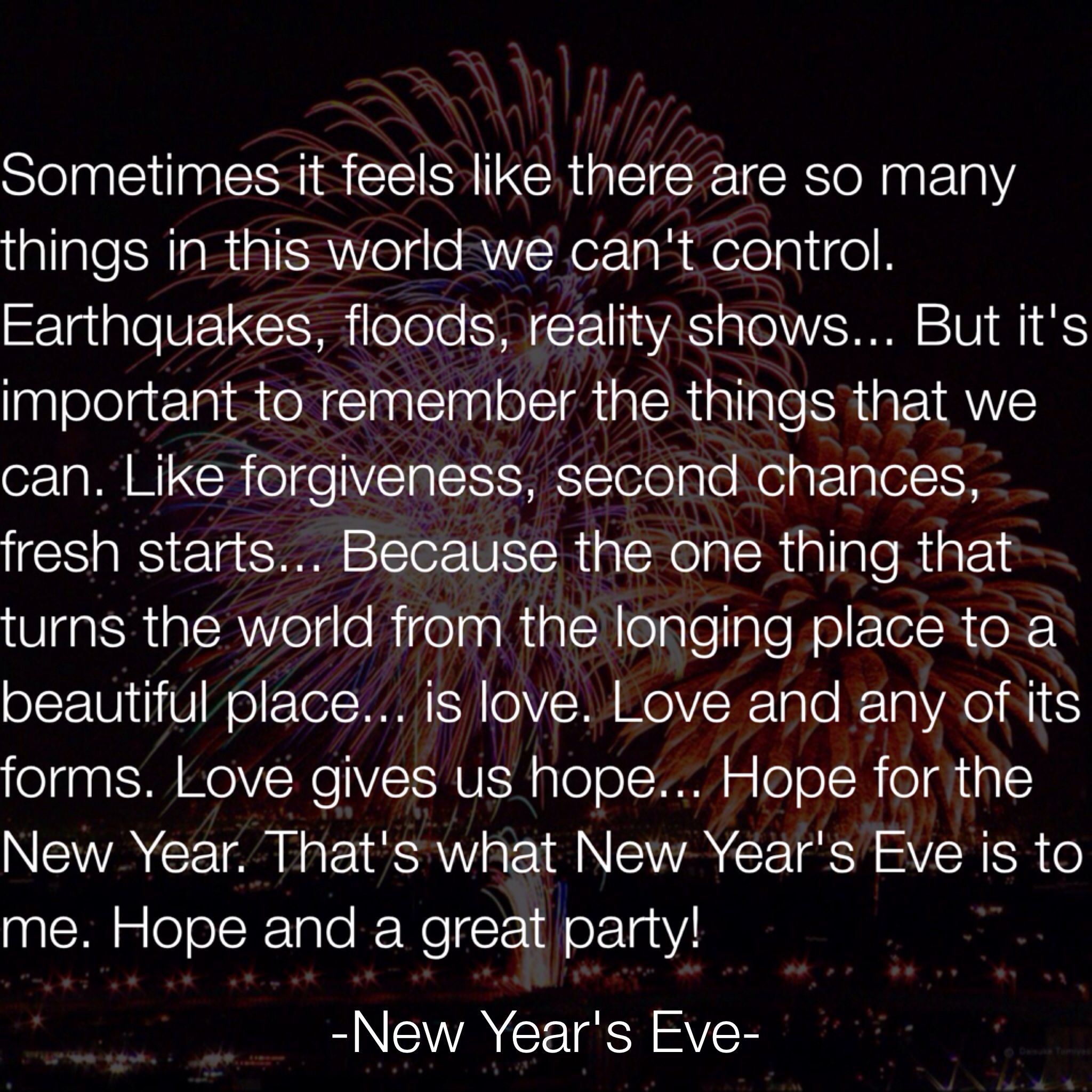 new years eve movie quote