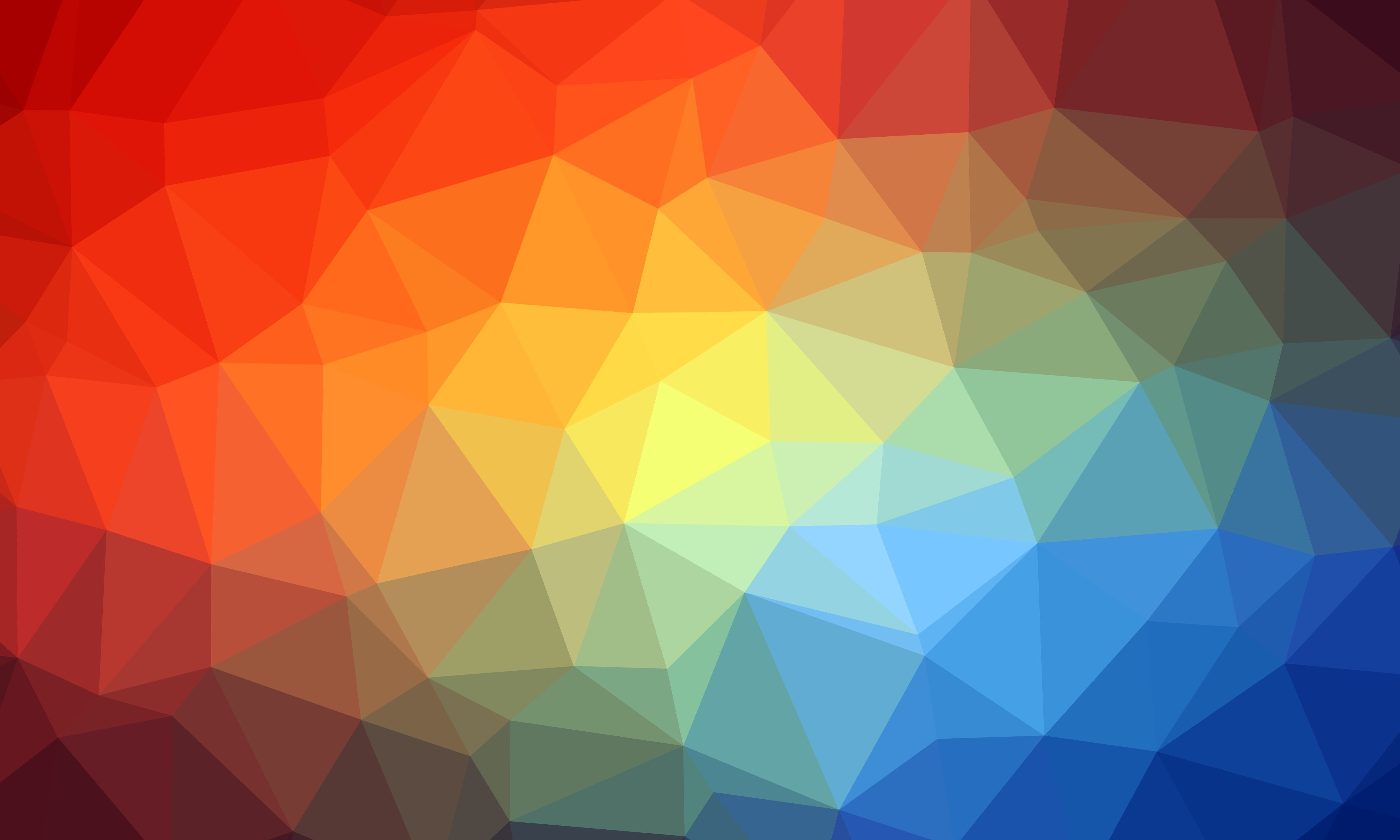 Triangle Geometric Multicolored 4k Wallpaper Hdwallpaper Desktop In 2020 Geometric Wallpaper Geometric Abstract