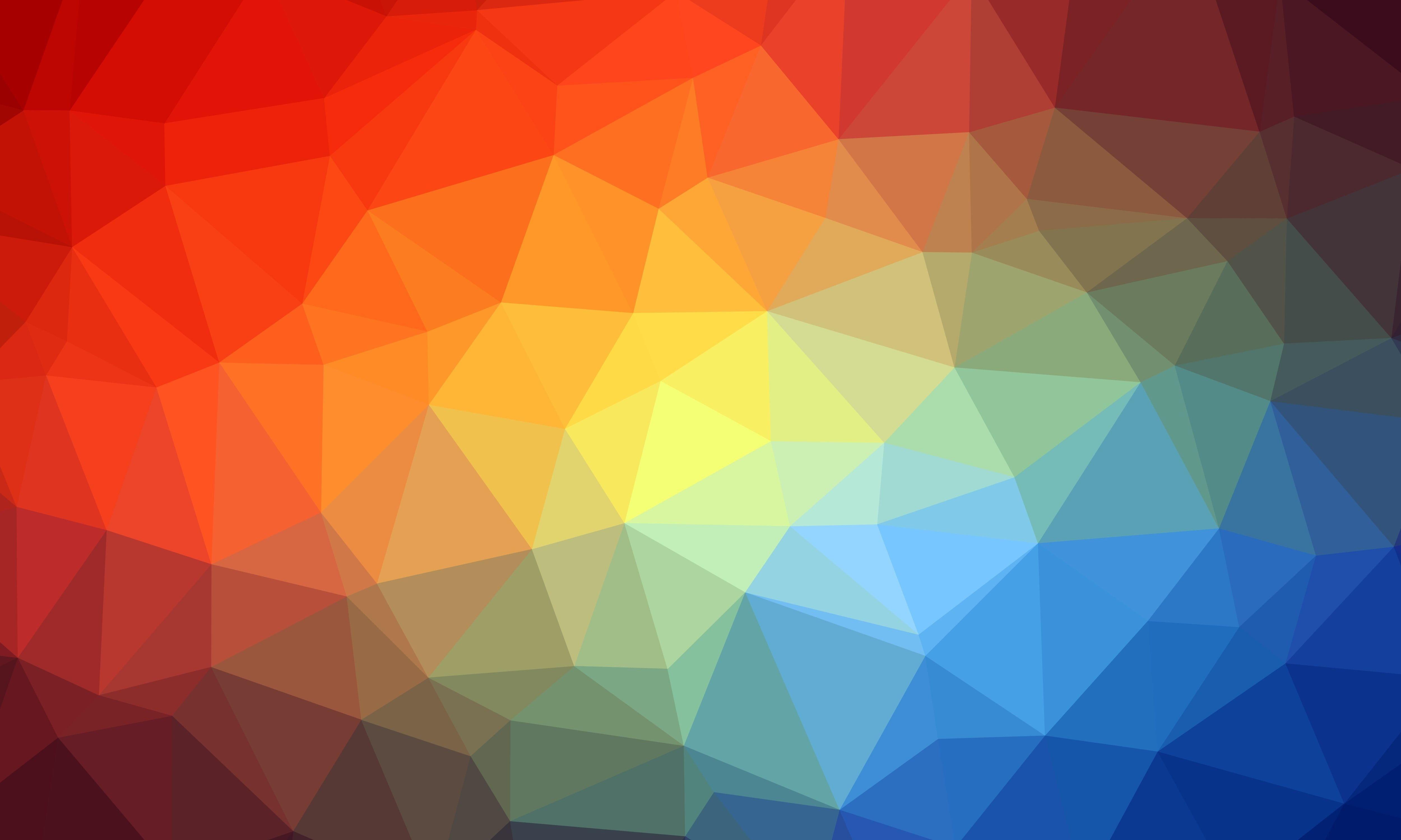 Triangle Geometric Multicolored 4k Wallpaper Hdwallpaper Desktop Abstract Geometric Wallpaper 4k Geometric