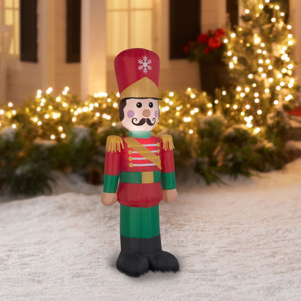 Airblown Inflatable Toy Soldier 4 Foot Tall By Gemmy Industries ...
