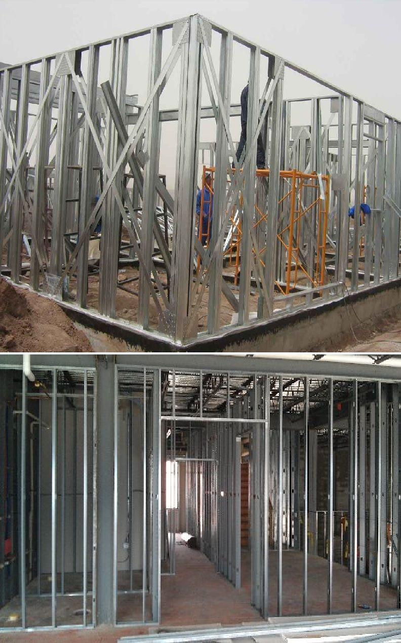 Heavy Gauge Steel And Aluminum Wall Framing Aluminum Wall