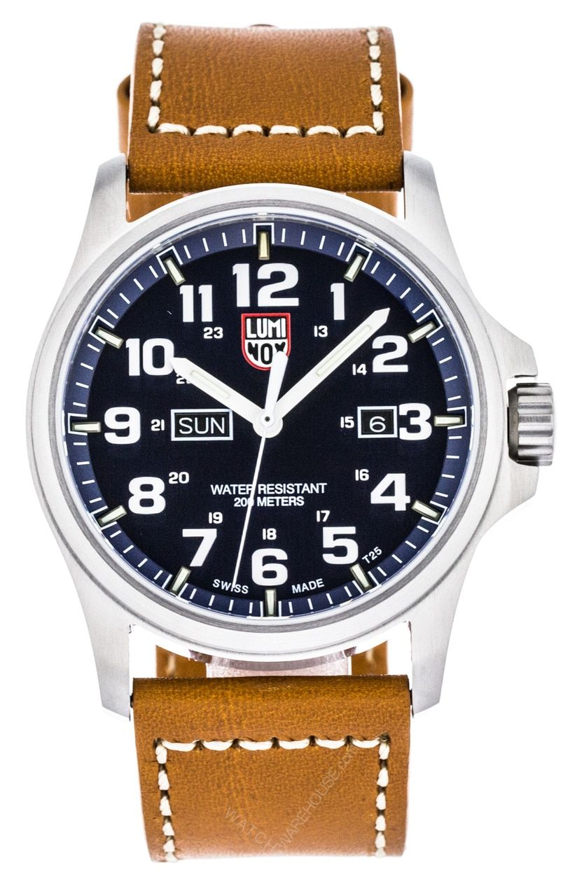 71b71d8e2a8 Buy New   100% Authentic Luminox A.1924 Atacama Field Day Date 1920 Series  Men s Leather Watch from Watchwarehouse.com for less Discounted  Free-Shipping