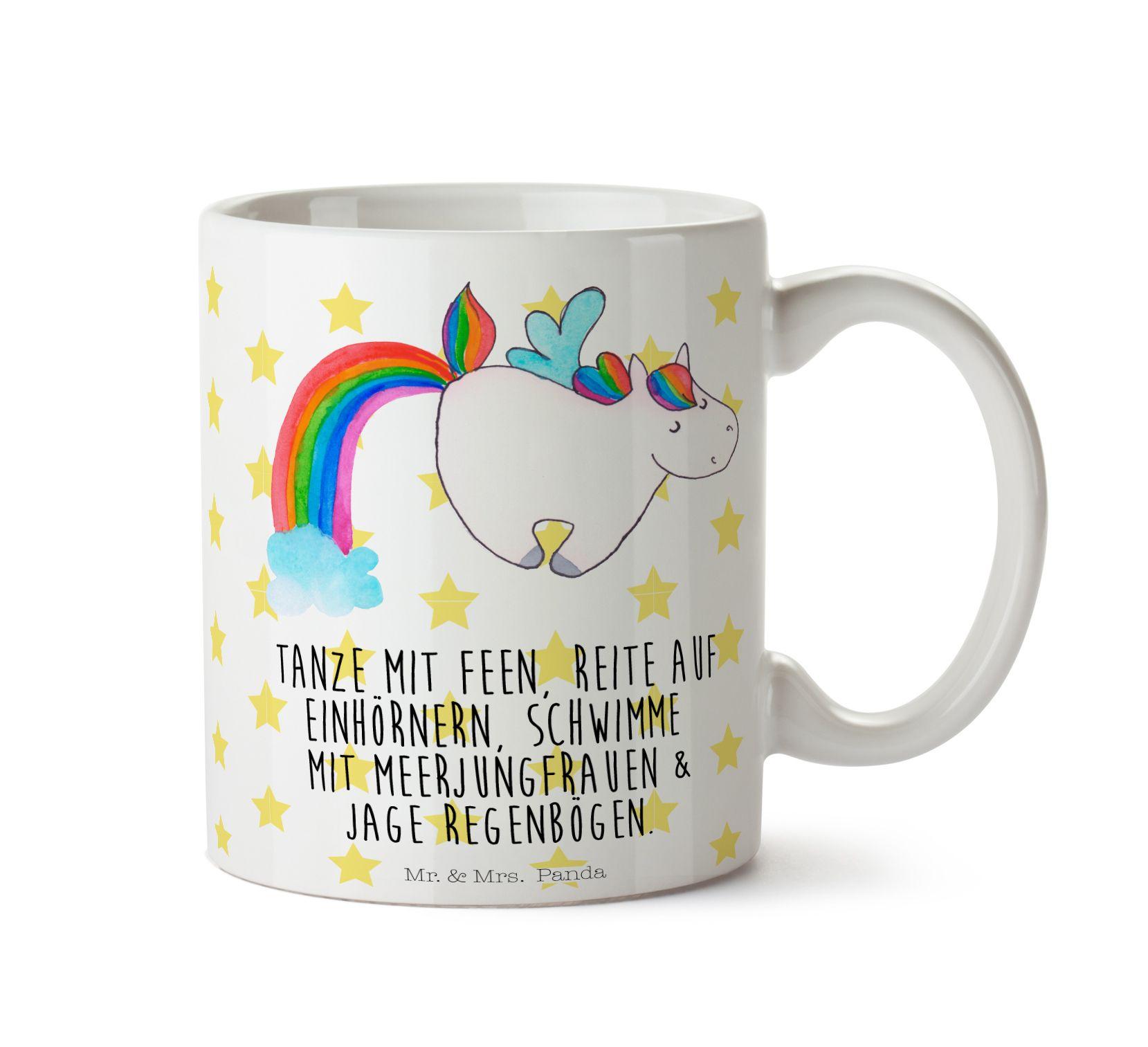 Kaffe Tasse Sprüche Meerjungfrau Keramik bedruckt