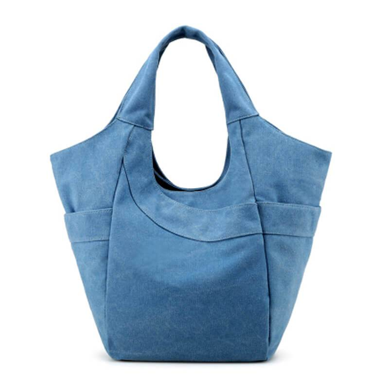 Simplicity Canvas Women Tote Bag, Coffee Handbag 1282