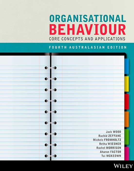 Organisational Behaviour Core Concepts and Applications