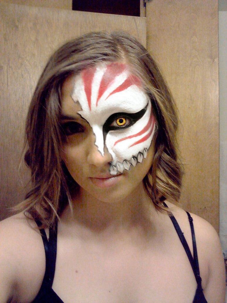 Bleach Ichigo Hollow Mask Face Paint Cosplay | Ichigo Cosplay Face ...