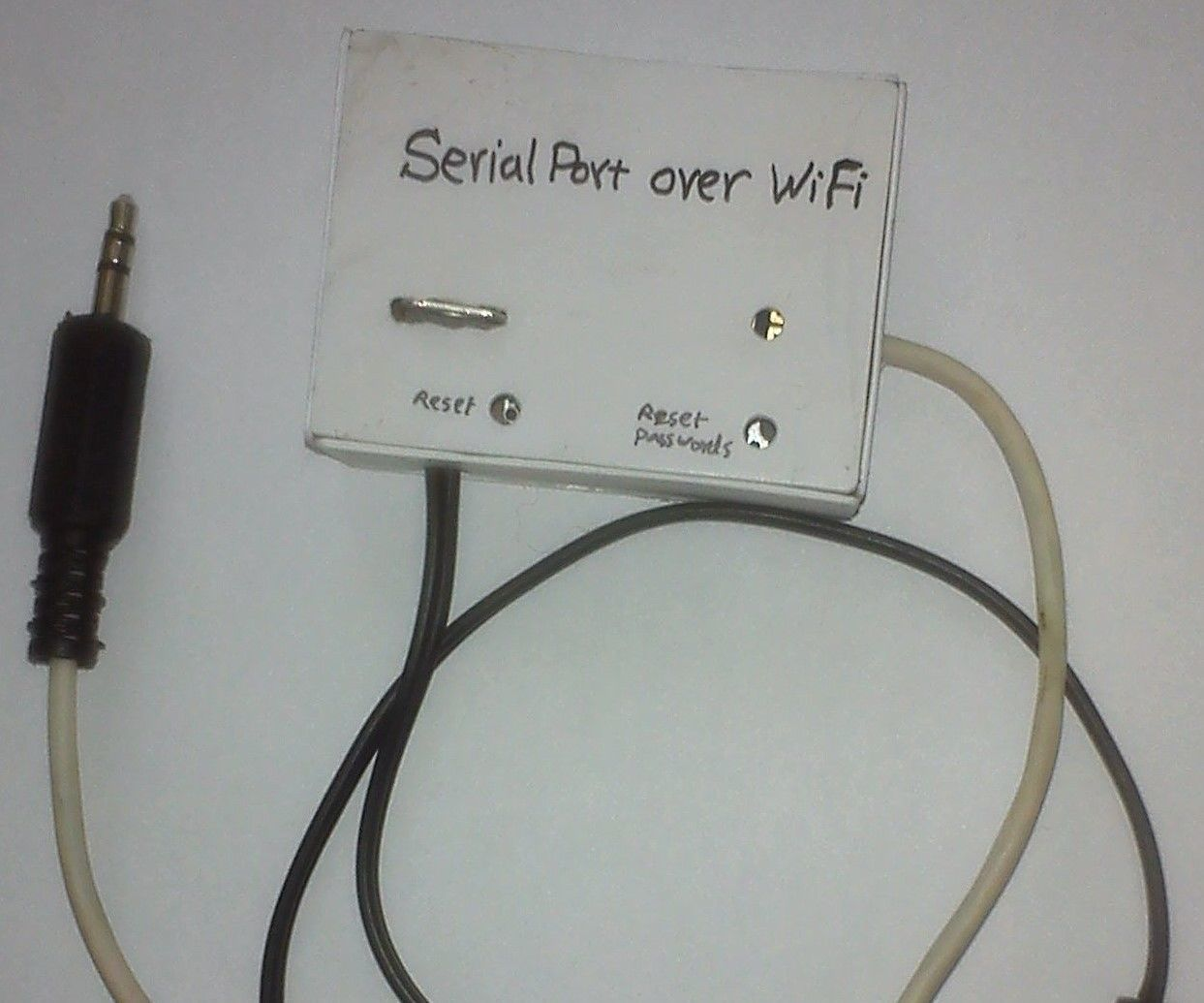 Serial Port Over WiFi | Serial port and Electronics projects