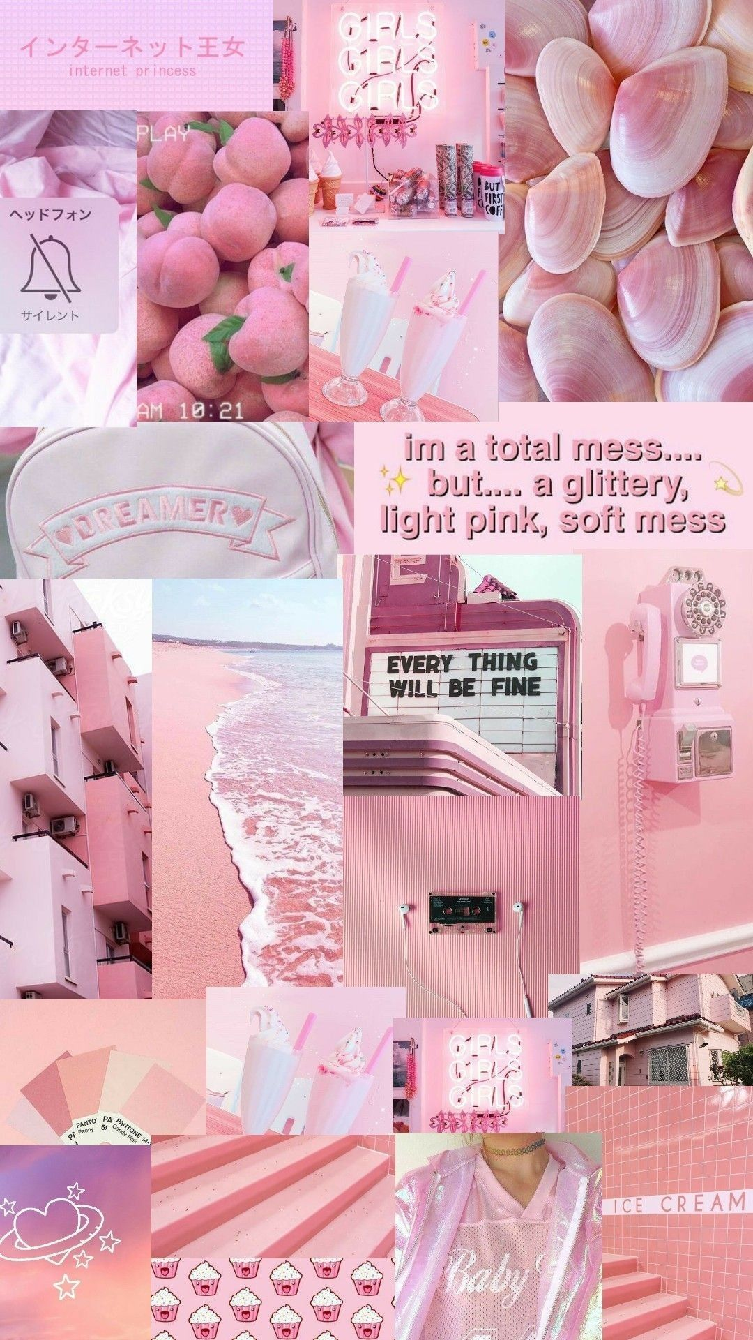 Pin by Fatihah Samsudin on Pinky Iphone wallpaper