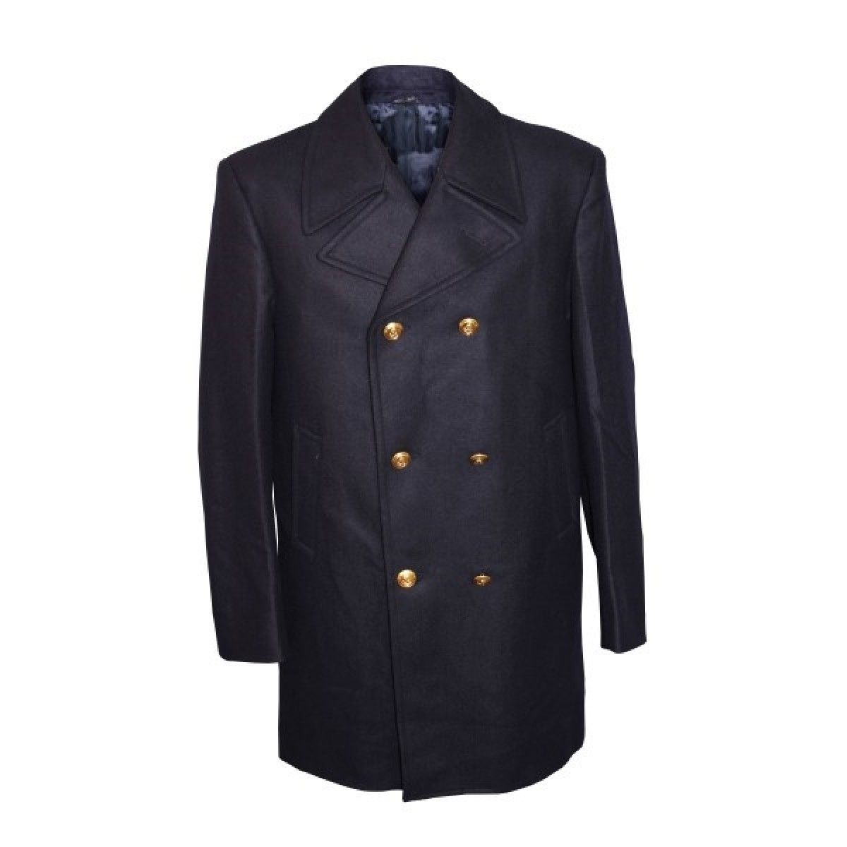 NEW ITALIAN NAVY PEACOAT | Wool keeps you warm, even when wet ...