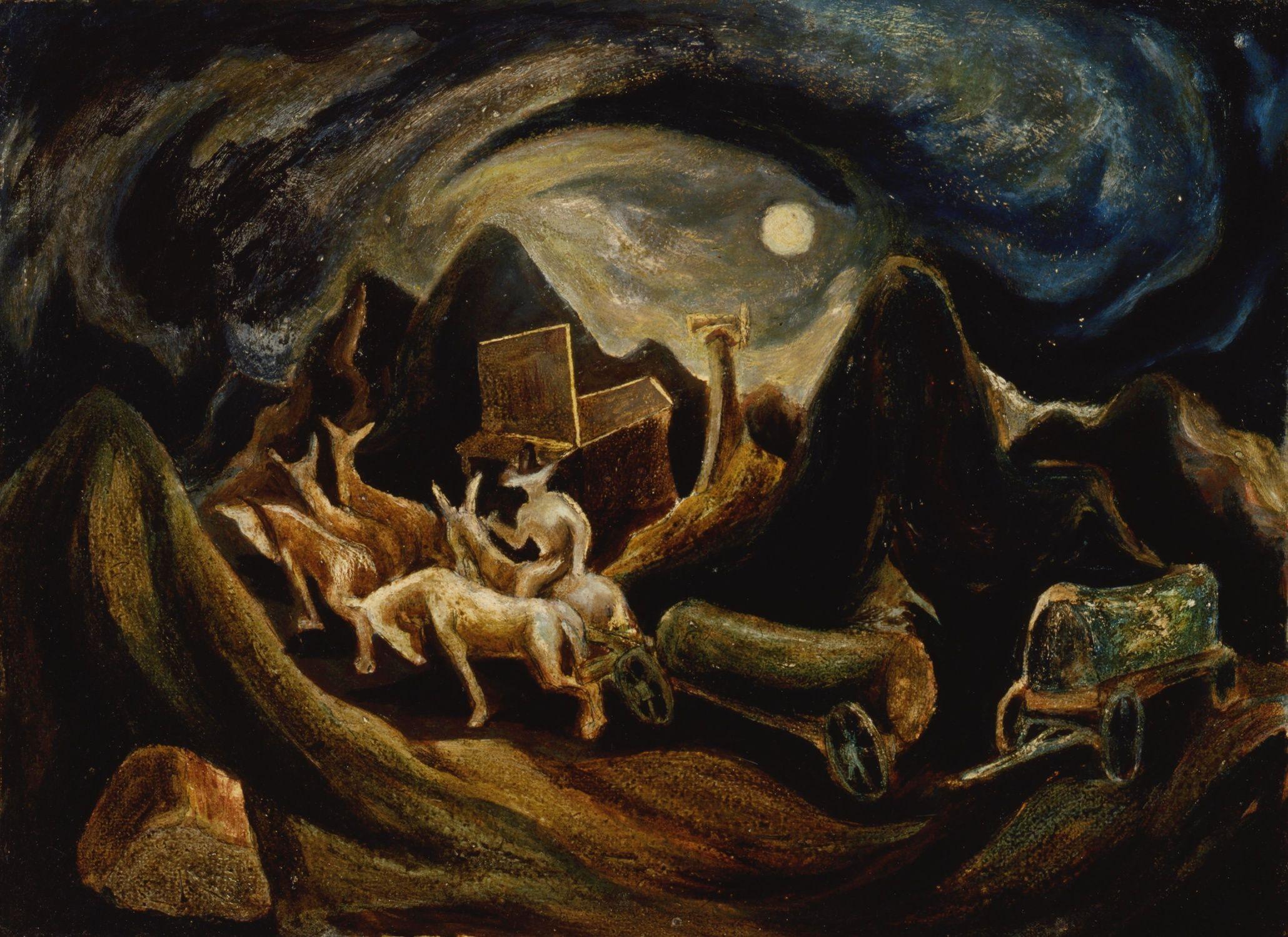 Jackson Pollock, Going West, 19341935