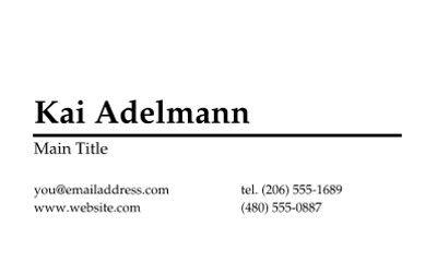 Business Cards | Executive Business Cards | Staples® Copy & Print
