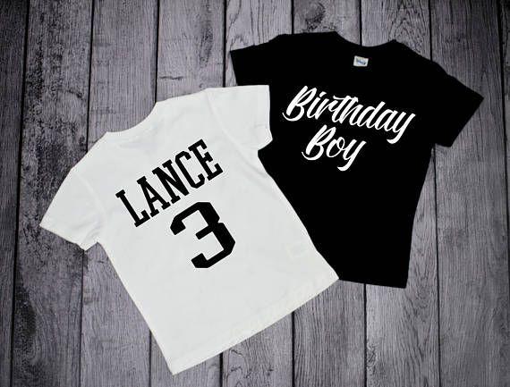 3 Year Old Birthday Boy Shirt Clothing Children Tshirt