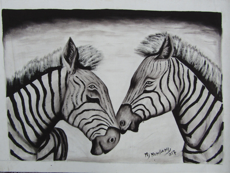 African paintingzebra paintingafrican acrylic paintingacrylic paintingoriginal paintingpainting shopmozambique artafrican handicrafts by