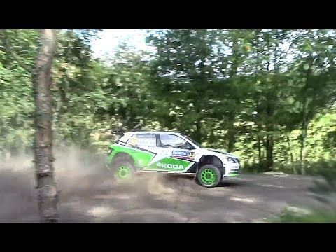 WRC Rally Finland 2016 - Pontus Tidemand Total Crash - YouTube