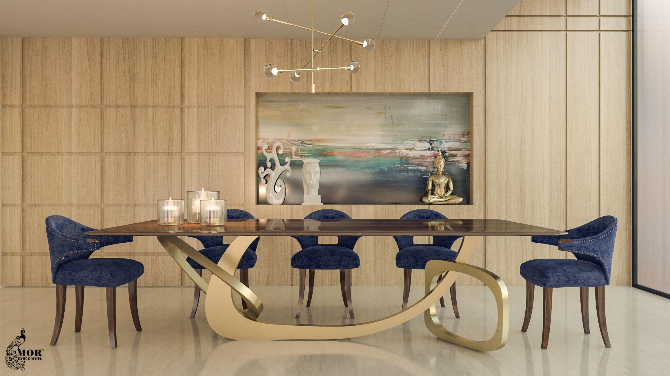 The Idiosyncratic Base Of Our Marc Dining Table Says It All This
