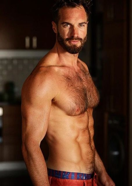 male hairy model gay