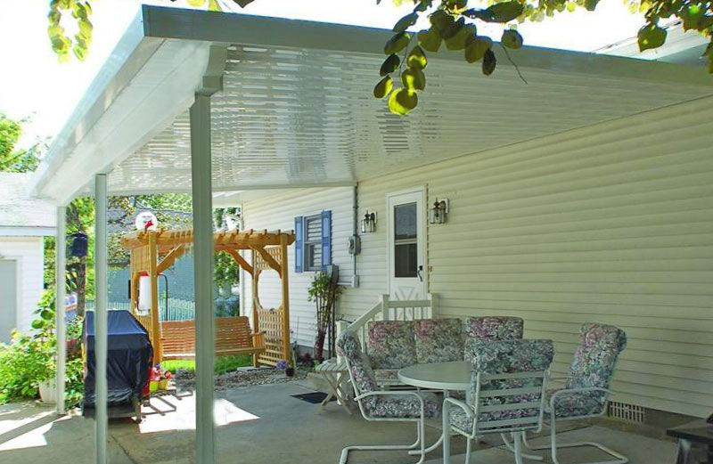 Teton Patio Cover With Flat Roof Panels Covered Patio Roof Panels Aluminum Patio Covers