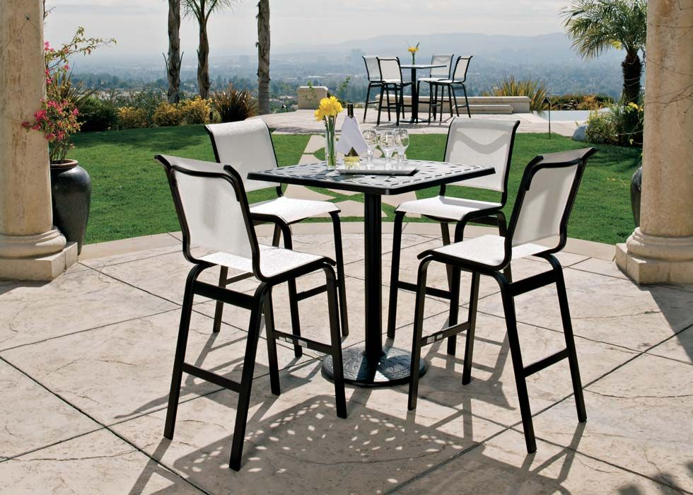 Aruba Sling Collectiontelescope Casual Furniture Quality Outdoor Furniture Outdoor Patio Bar Garden Patio Furniture