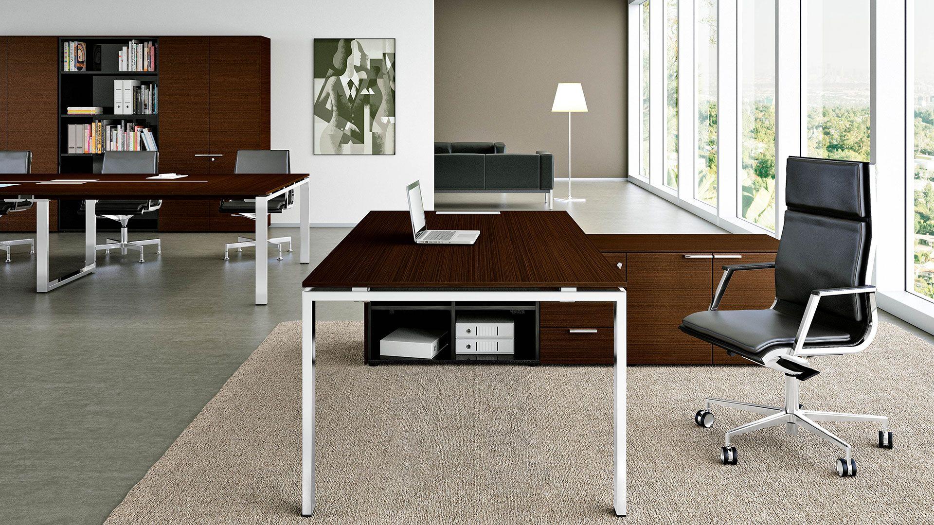 Chefzimmer Schreibtisch Platinum Chefburo Fur Hohe Anspruche An Preis Design Und Qualitat Chefburo Mit Reprasentativer Chefschreibtisch Sideboard Schreibtisch