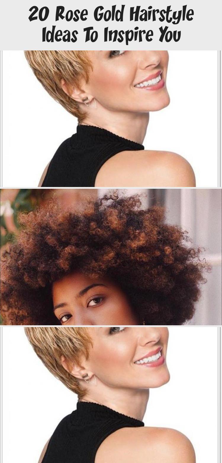 Photo of Die unten stehende Idee für eine Frisur aus 20 Roségold umfasst sowohl kurzes als auch langes Haar. #LongHa …