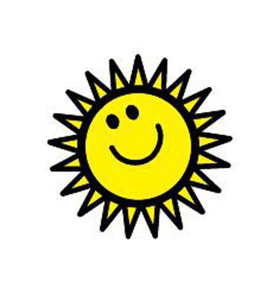 Incentive Stamp - Sunny Face (SE-422)
