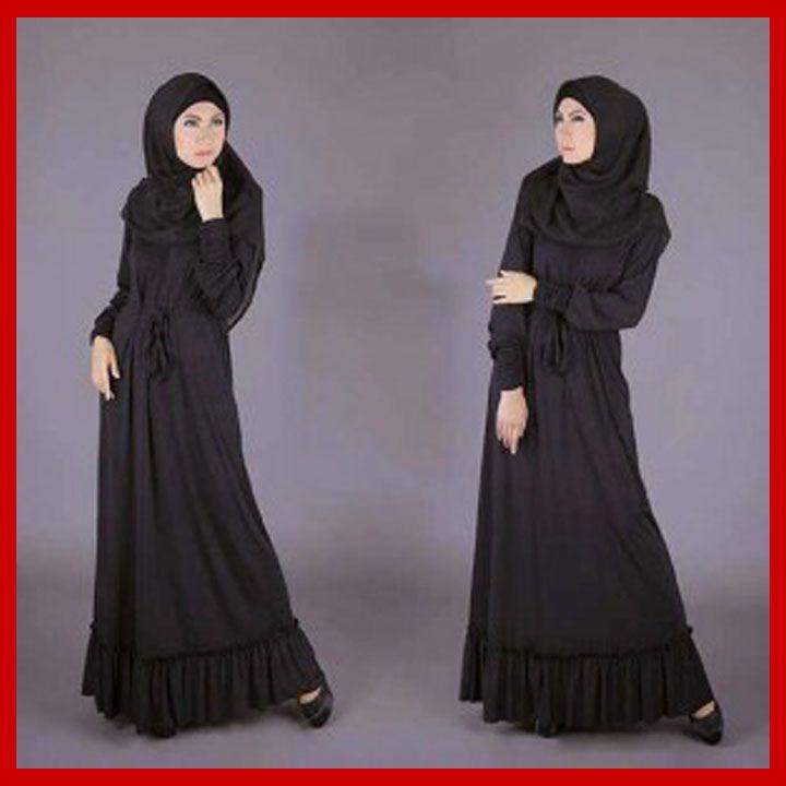Baju Muslim Serba Warna Hitam Model Gamis Terbaru Muslim Dress Fashion Girl Fashion