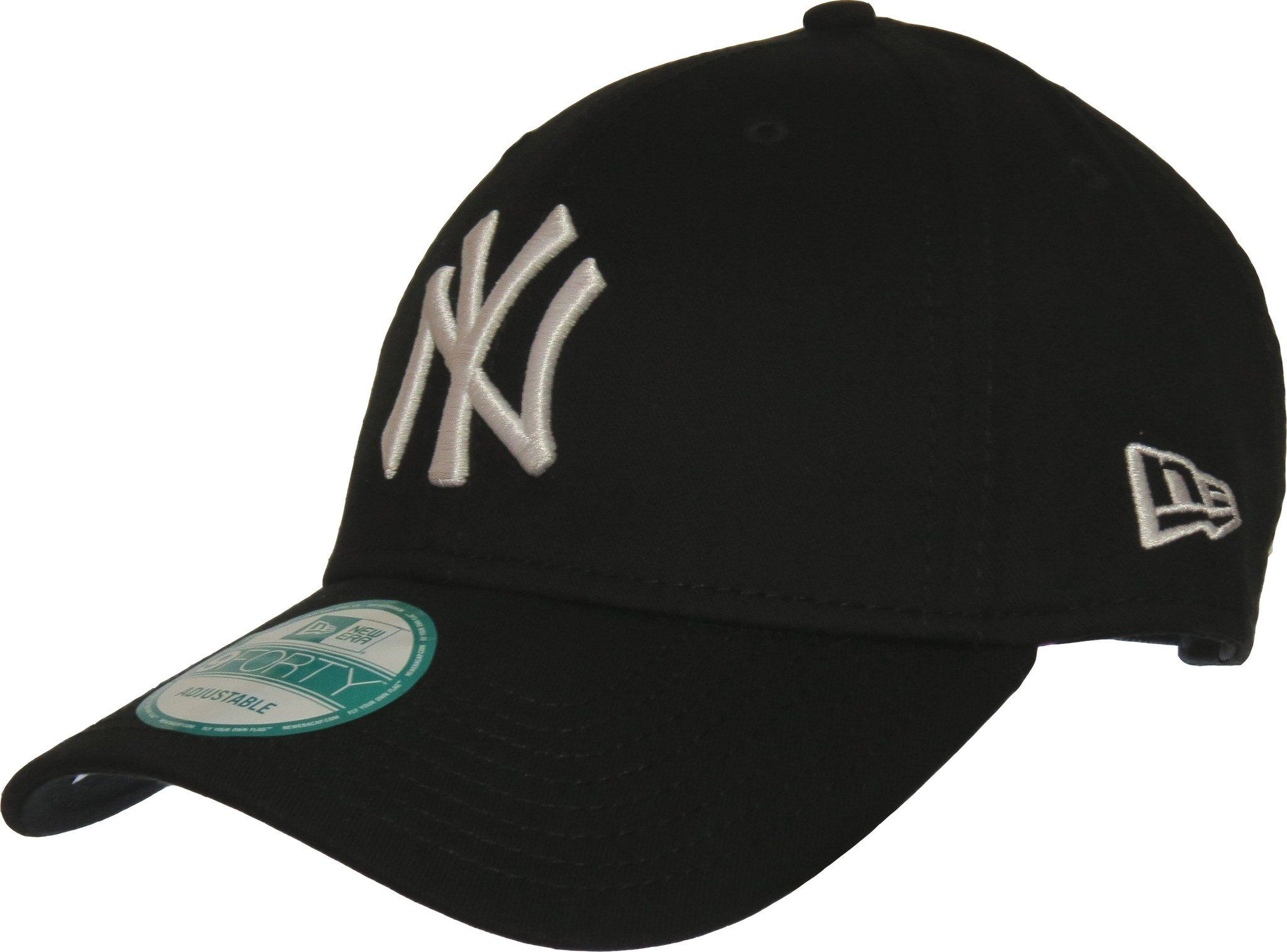 New Era 940 League Basic NY Yankees Adjustable Black Baseball Cap –  lovemycap e8339635744