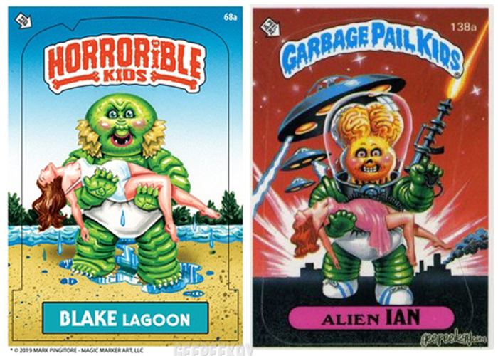 Mark Pingitore Gpk Parody Card Garbage Pail Kids Comic Book Cover Comic Books