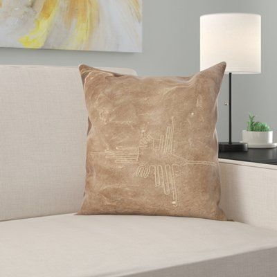 East Urban Home Nasca Throw Pillow