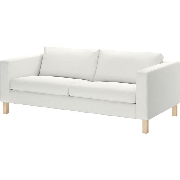 Ikea Karlstad Sofa Blekinge White 25 105 Rub Liked On
