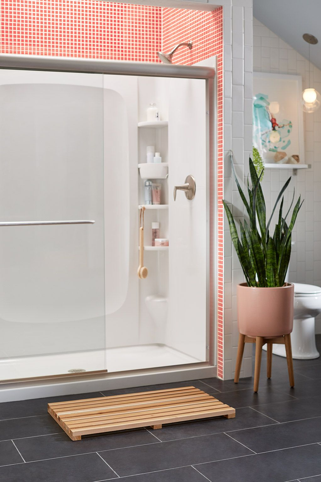 Is your shower overcrowded? It\'s time to up your storage game with ...