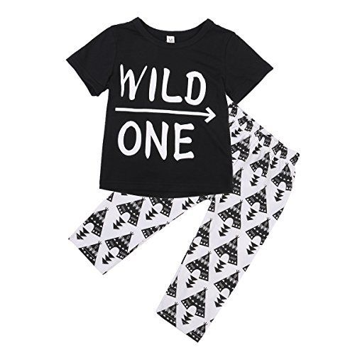 "Baby Boys Short Sleeve ""WILD ONE"" T-shirt and Printing Pants Outfit, http://www.amazon.com/dp/B01H520TR4/ref=cm_sw_r_pi_awdm_x_7K.eyb4R4DCP3"