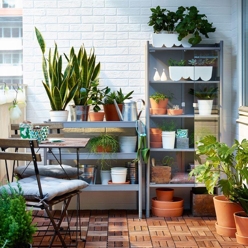 Balkon Garten Ideen Inspirationen Balkong Design Bakgard Uteplatser
