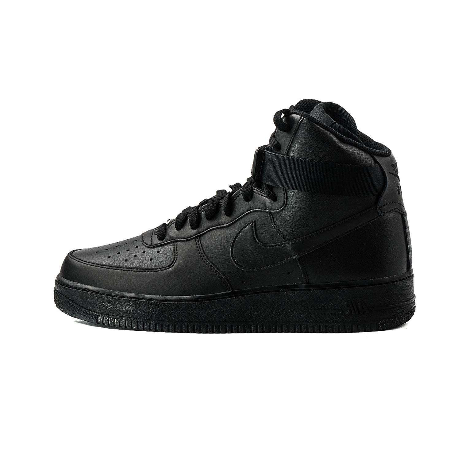 separation shoes 65f63 65bee NIKE AIR FORCE ONE HIGH SNEAKER - TRIPLE BLACK