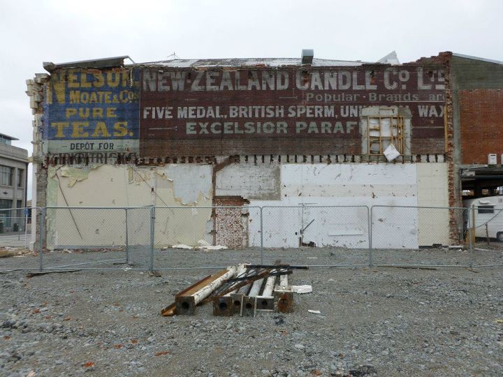 Earthquakes unearth Vintage Signs in Chch | How do you get enough British Sperm to make candles?