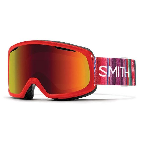 909f8b3214b9 Smith Women s Riot Snow Goggles With Red Sol X Lens - Sun   Ski ...