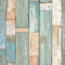 Tapete Grandeco Exposed Warehouse Holz Used-Look Vintage Shabby ...