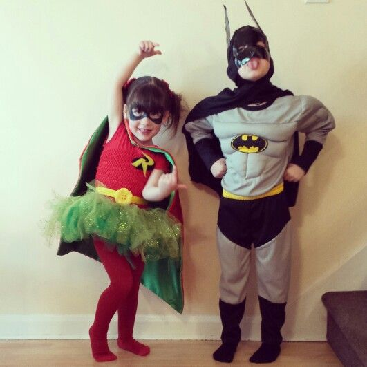 Robin Fancy Dress Costume Justice League Superhero