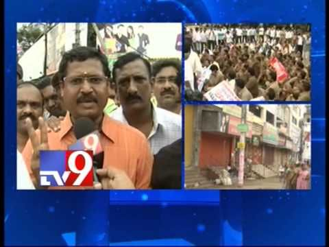 TTD employees gheraoed by Samaikyandhra protesters
