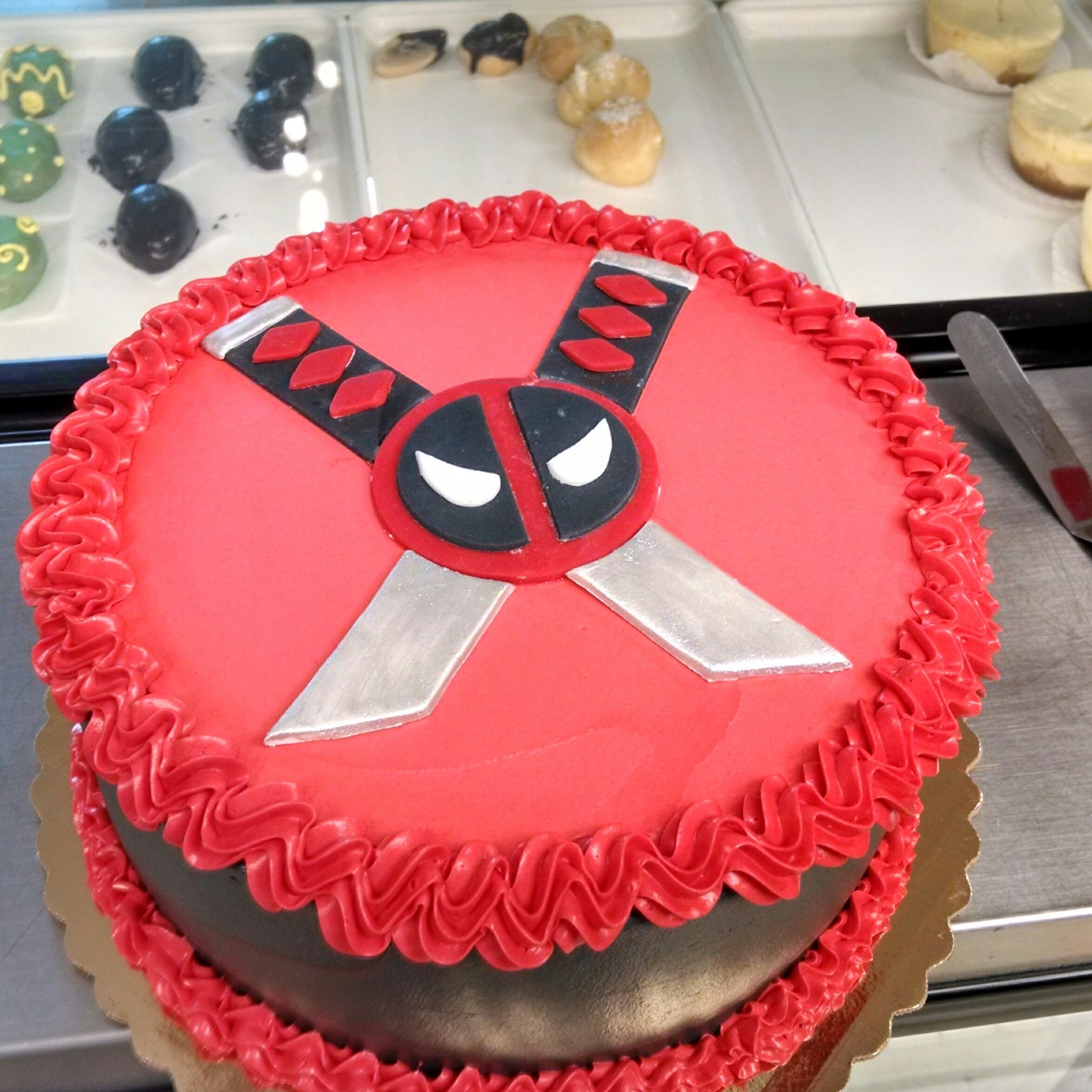 Deadpool cake deadpool pinterest cake deadpool cake and