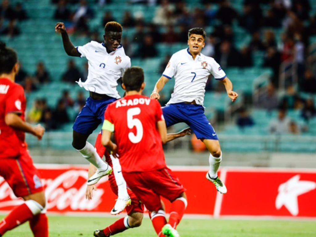 Portugal Campeão Europeu sub 17. 2016. José Gomes e João Filipe